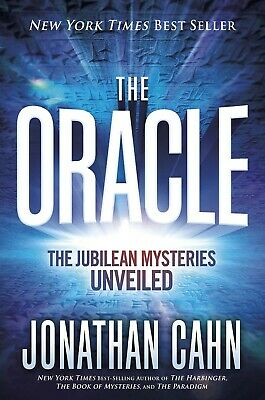 The Oracle The Jubilean Mysteries Unveiled by Jonathan Cahn Hardcover  NEW