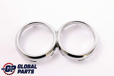 *BMW Mini Cooper One 1 R50 R52 R53 Cup Drink Holder Trim Ring Chrome 7127915