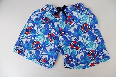 Vilebrequin Boys Swim, Swimming Shorts, Size Age 12, Blue & Red, Immaculate