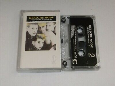 Depeche Mode:  The Singles 81-85     UK  EX    Cassette