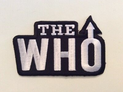 M230 // ECUSSON PATCH AUFNAHER TOPPA / NEUF / THE WHO 8,5*5,5 cm