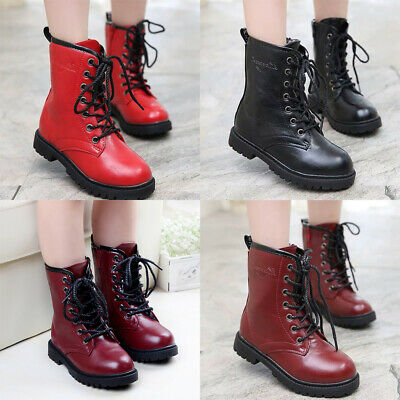 Baby Boys Girls Martin Ankle Boots England Style Fashion Chelsea Shoes AU Post