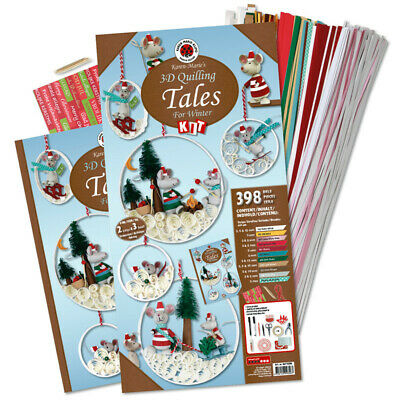 Karen Marie Klip: Tales for Winter, Quilling Kit