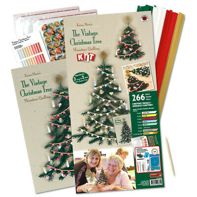 Karen Marie Klip: The Vintage Christmas Tree Quilling Kit