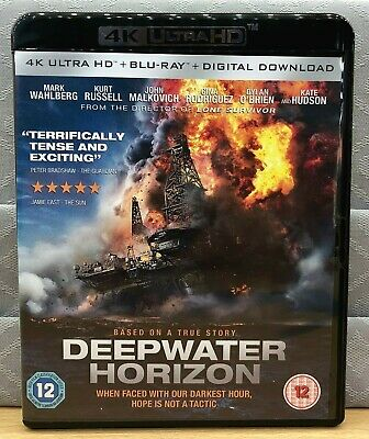 DEEPWATER HORIZON - 4K UHD Box Only, No discs Included