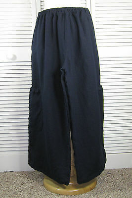 Mail Bag Flax Linen Pant NEW SPRING COLORS S M L XL Blue Fish Red Moon Clothing
