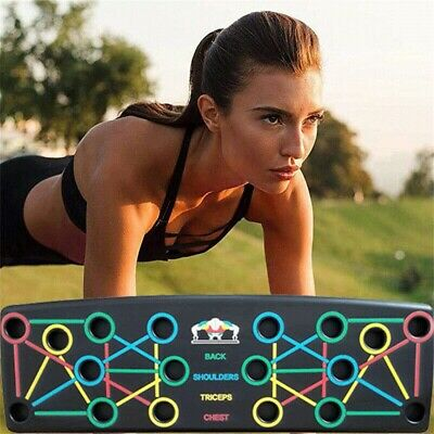 9in1 NEW Push-up Board Stand Fitness System Muscle Training Workout Exercise