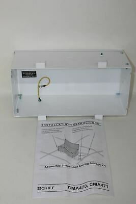 CHIEF CMA470 Above Tile Suspended Ceiling Business Equipment Storage Hatch NEW