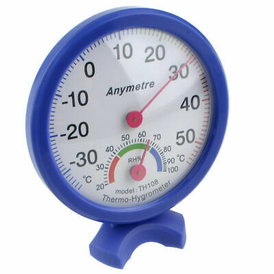 Outdoor Wall Temperature Humidity Thermometer Meter Gauge Thermometer Hygrometer