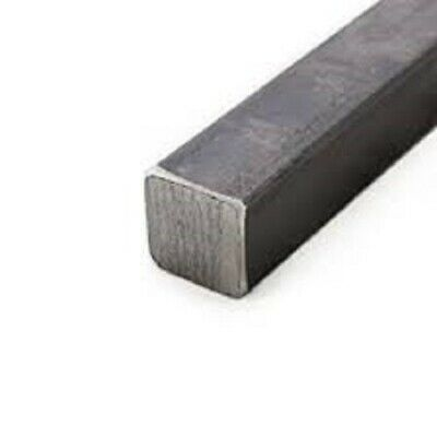 "Alloy 1018 Cold Rolled Solid Square Bar - 1/4"" x 1/4"" x 72"" (Lot of 4pcs)"