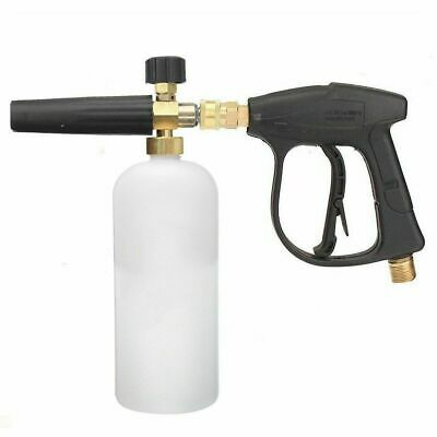 G1/4 Quick Connector Pressure Snow Foam Lance Car Washer Bottle Gun Cannon Jet