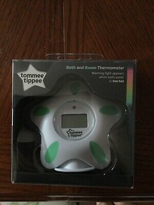 Tommee Tippee Bath And Room Thermometer Closer To Nature(White)