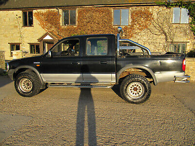 2002 Ford ranger 4x4 Pick Up, 12 months Test, One Penny Start, No Reserve