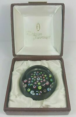 Boxed Whitefriars Spread Of Roses Millefiori Paperweight 1982 Limited Edition
