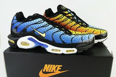 Nike Air Max Plus Greedy Hyper Blue Shark AV7021 001 Men's Shoes Sneakers