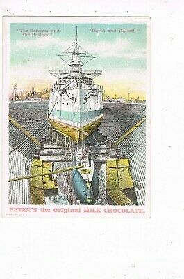ANTIQUE ADVERTISING / TRADE Card      PETER'S CHOCOLATE