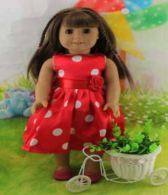 Outfit Handmade Doll Clothes Dress Accessories Lot For 18 inch Toy Girl Fashion