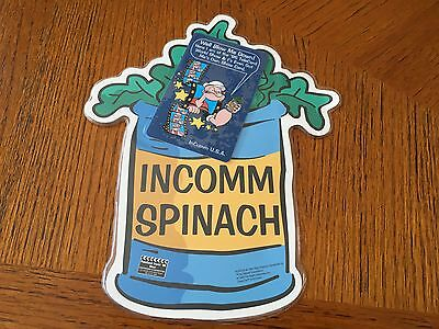 Incomm Spinach, Well Blow Me Down, only 2000, Popeye, Telecard World 95, in foil