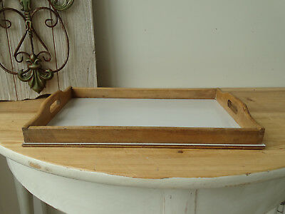 S3073 Old Tray from Wood~Vintage~Wooden Tray ~Serving Tray~ Antique
