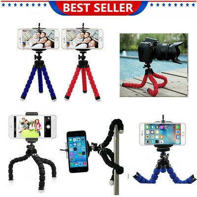 Universal Mini Mobile Phone Tripod Stand Grip Holder Mount For Camera iPhone UK