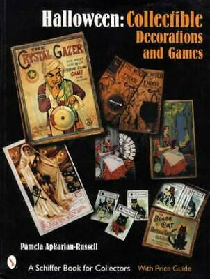 Vintage Halloween Decorations & Games Collector Guide inc Postcards Games & More