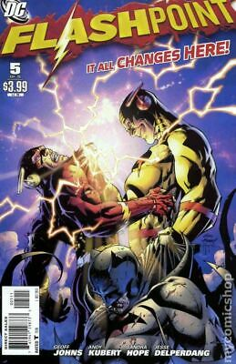 Flashpoint #5A Kubert Variant FN 2011 Stock Image