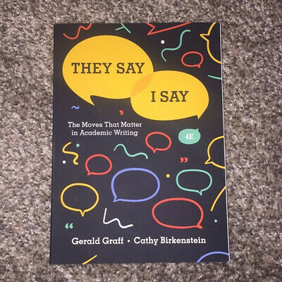 They say/I say 4th Edition [ FREESHIPPING ]