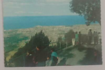 Old post card Postcard - Mt Keira Lookout -Wollongong NSW Australia