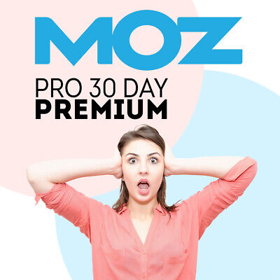 MOZ Pro Account Premium Features Activated 30 Day Keyword Research Tool SEO MOZ