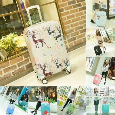 """22-28"""" Luggage Elasticity Trolley Dustproof Travel Suitcase Bag Protector Cover"""