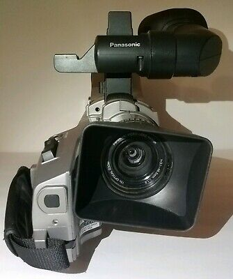 Panasonic Pro AG-DVC7 MiniDV Proline Camcorder Discontinued Model Movie Props