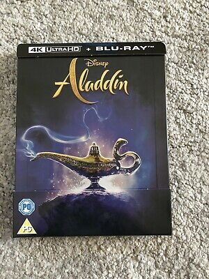 Aladdin (2019) : 4K + 2D Blu-ray, UK Exclusive STEELBOOK In Hand Now