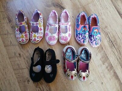 Girls shoe Bundle size10/11. Includes Lelly Kelly and Irregular Choice. 5 pairs.