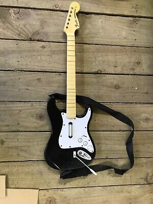 Rock Band Wireless Fender Stratocaster Guitar Controller Sony Playstation 3 PS3