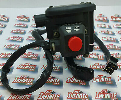 Throttle Lever & 4wd 4x4 Switch On Off  for Yamaha Grizzly 350cc