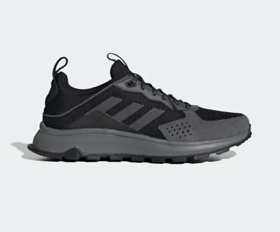New Adidas EG0000 Response Trail Running Training Shoes Black Gray Mens