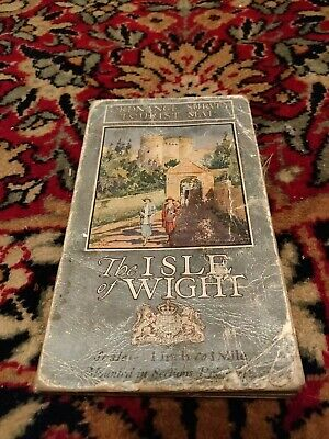 Vintage Cloth Ordnance Survey Map Of The Isle Of Wight