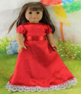 Handmade Doll Clothes Dress Accessories Outfit Lot For 18 inch Toy Girl Fashion