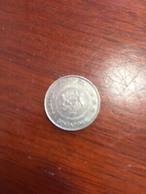 1988 Singapore Ten Cents 10 Cent Coin - Singapura
