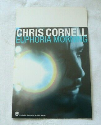 CHRIS CORNELL Euphoria Morning Promo Counter Display 1999 W/ BONUS