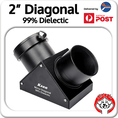 "Kson 2"" Diagonal (Dielectric, 99% Reflectivity) Metal, Solid Build"