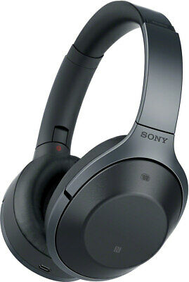 Sony MDRX1000 wireless noise-cancelling headphones (over-ear) (black)