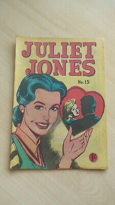 Australian comic Juliet Jones #15 Comic Photo-type Press