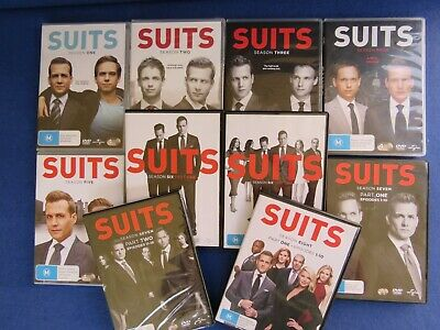 Suits Season Complete Season 1 To 8 Part One Dvd Tv Patrick Adams Meghan Markle