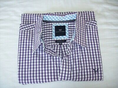 Crew Clothing Co - Mens  classic fit long sleeve striped shirt size XL- PRISTINE