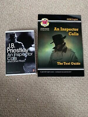 GCSE CGP An Inspector Calls Text Guide + Book