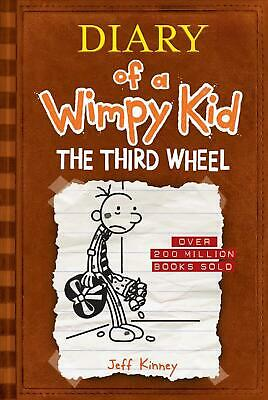 The Third Wheel (Diary of a Wimpy Kid #7) by Jeff Kinney (English) Hardcover Boo