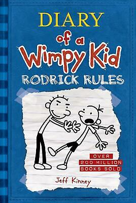 Rodrick Rules (Diary of a Wimpy Kid #2) by Jeff Kinney (English) Hardcover Book