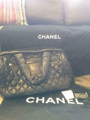 CHANEL Boston bag here Cocoon bowling (P666
