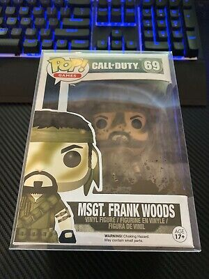 Funko POP! Games Call of Duty MSGT. Frank Woods #69